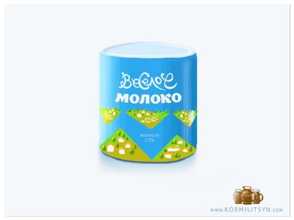 брендинг молочной продукции